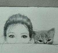 她和她的猫丨